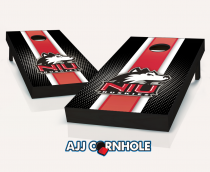 Northern Illinois Huskies Striped Cornhole Set