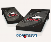 Northern Illinois Huskies Swoosh Cornhole Set