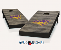 Northern Iowa Panthers Distressed Cornhole Set