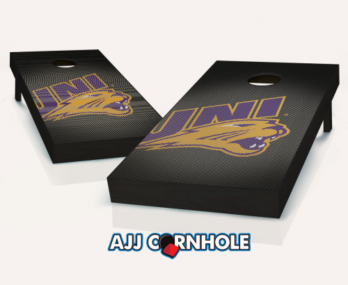 Northern Iowa Panthers Slanted Cornhole Set