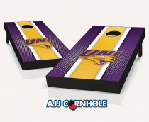 Northern Iowa Panthers Striped Cornhole Set