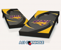 Northern Iowa Panthers Swoosh Cornhole Set