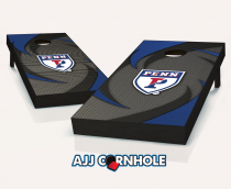 Penn Quakers Swoosh Cornhole Set