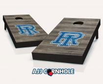 Rhode Island Rams Distressed Cornhole Set