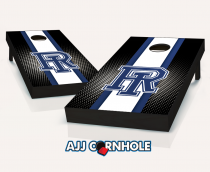 Rhode Island Rams Striped Cornhole Set