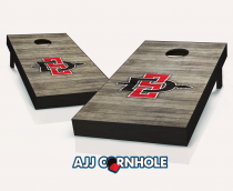 San Diego State Aztecs Distressed Cornhole Set