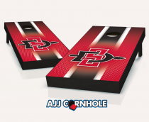 San Diego State Aztecs Striped Cornhole Set
