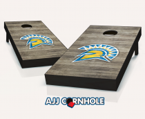 San Jose State Spartans Distressed Cornhole Set