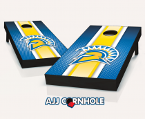 San Jose State Spartans Striped Cornhole Set