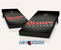 St John's Red Storm Slanted Cornhole Set