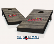 Temple Owls Distressed Cornhole Set