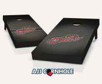 Temple Owls Slanted Cornhole Set