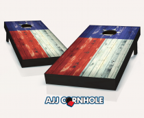 """Texas Flag"" Distressed Cornhole Set"