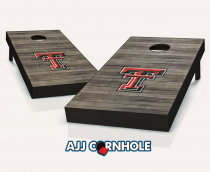 Texas Tech Red Raiders Distressed Cornhole Set