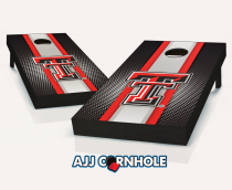 Texas Tech Red Raiders Striped Cornhole Set