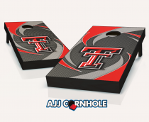 Texas Tech Red Raiders Swoosh Cornhole Set