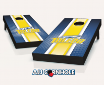 Toledo Rockets Striped Cornhole Set