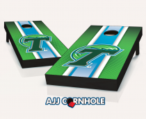 Tulane Green Wave Striped Cornhole Set