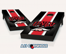 UNLV Rebels Striped Cornhole Set