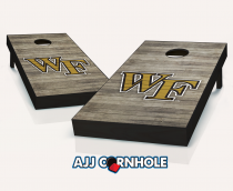 Wake Forest Demon Deacons Distressed Cornhole Set