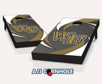 Wake Forest Demon Deacons Swoosh Cornhole Set