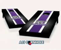 Weber State Wildcats Striped Cornhole Set