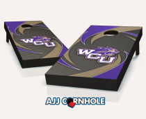 Western Carolina Catamounts Swoosh Cornhole Set