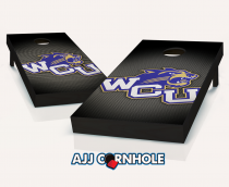 Western Carolina Catamounts Slanted Cornhole Set