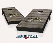 Western Michigan Broncos Distressed Cornhole Set