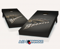 Western Michigan Broncos Slanted Cornhole Set