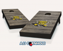 Wichita State WuShock Distressed Cornhole Set