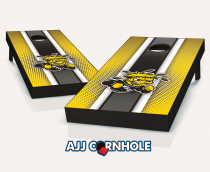 Wichita State WuShock Striped Cornhole Set