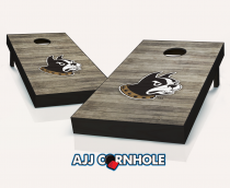 Wofford Terriers Distressed Cornhole Set