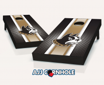 Wofford Terriers Striped Cornhole Set