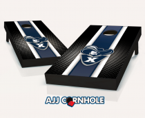 Xavier Musketeers Striped Cornhole Set