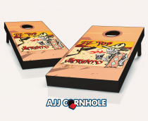 """ZZ Top Mescalero"" Cornhole Set"