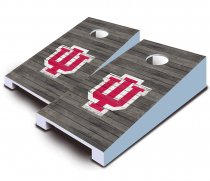 Indiana Hoosiers Distressed Tabletop Set
