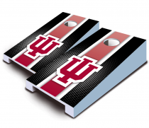 Indiana Hoosiers Striped Tabletop Set
