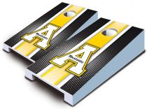 App State Mountaineers Striped Tabletop Set