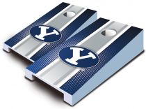 BYU Cougars Striped Tabletop Set