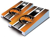 Campbell Fighting Camels Striped Tabletop Set