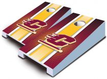 Central Michigan Chippewas Striped Tabletop Set