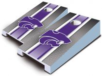 Kansas State Wildcats Striped Tabletop Set