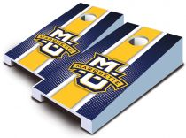 Marquette Golden Eagles Striped Tabletop Set