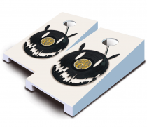 """Music World"" Tabletop Cornhole Set"