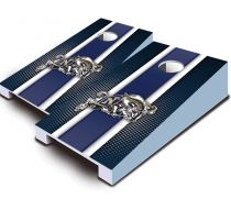 US Naval Academy Striped Tabletop Set