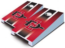 San Diego State Aztecs Striped Tabletop Set
