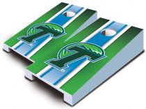 Tulane Green Wave Striped Tabletop Set