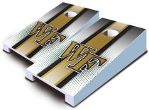 Wake Forest Demon Deacons Striped Tabletop Set