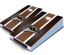 Western Michigan Broncos Striped Tabletop Set